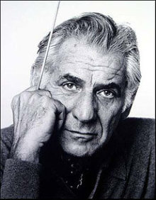 Photo Portrait of Leonard Bernstein by Jack Mitchell