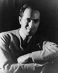 Photo portrait of George Gershwin