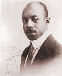 Photo portrait of Eubie Blake